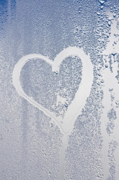 Drawn heart window Windows on Photo drawn Heart
