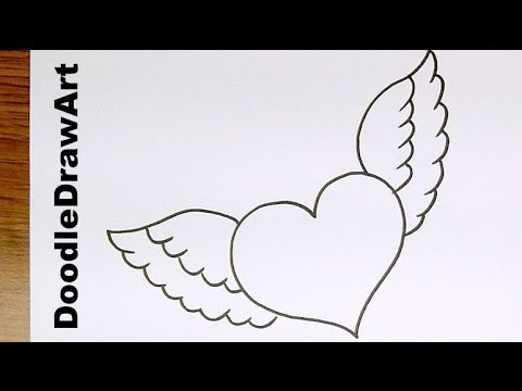 Drawn hearts simple Minute Wings Draw  Heart