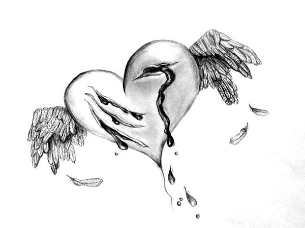 Drawn heart wounded heart The_wounded_heart_by_alinabond Narcissists Change Empaths elephant