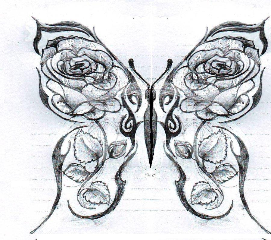 Drawn hearts big rose DeviantART roses roses by