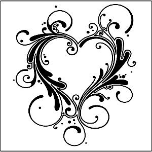 Drawn hearts fancy Images white & best 117