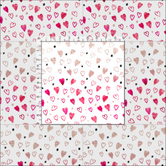 Drawn hearts glitter Hand glitter drawn Pink Trendy