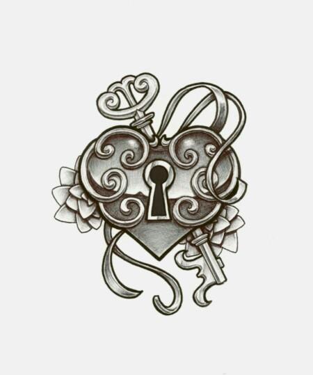Drawn hearts lock Haftu Google Search try drawings