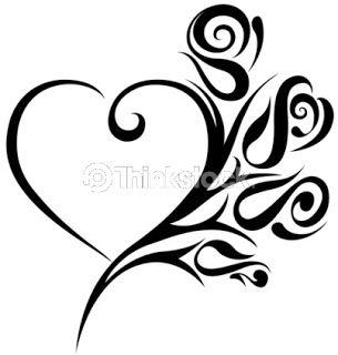 Drawn hearts love heart Tattoo tattoo Designs heart designs