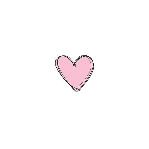 Drawn hearts png tumblr Drawing via pink Gröblinghoff image