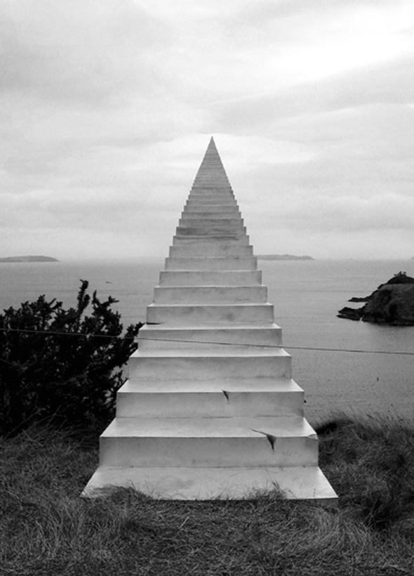 Drawn stairs allusion Stairs To Eternity Eternity To
