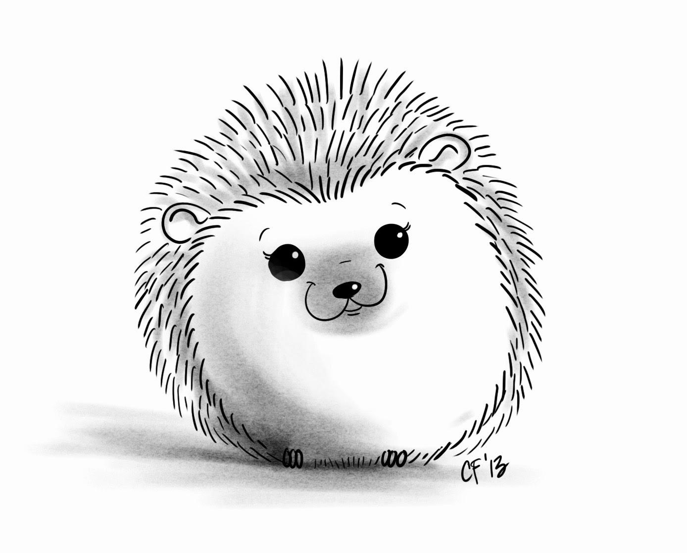 Drawn hedgehog Best On ideas OMG with