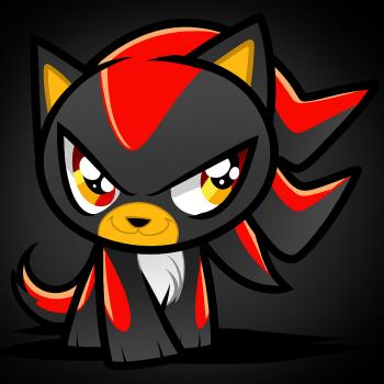 Drawn hedgehog anime Cat to Shadow How by