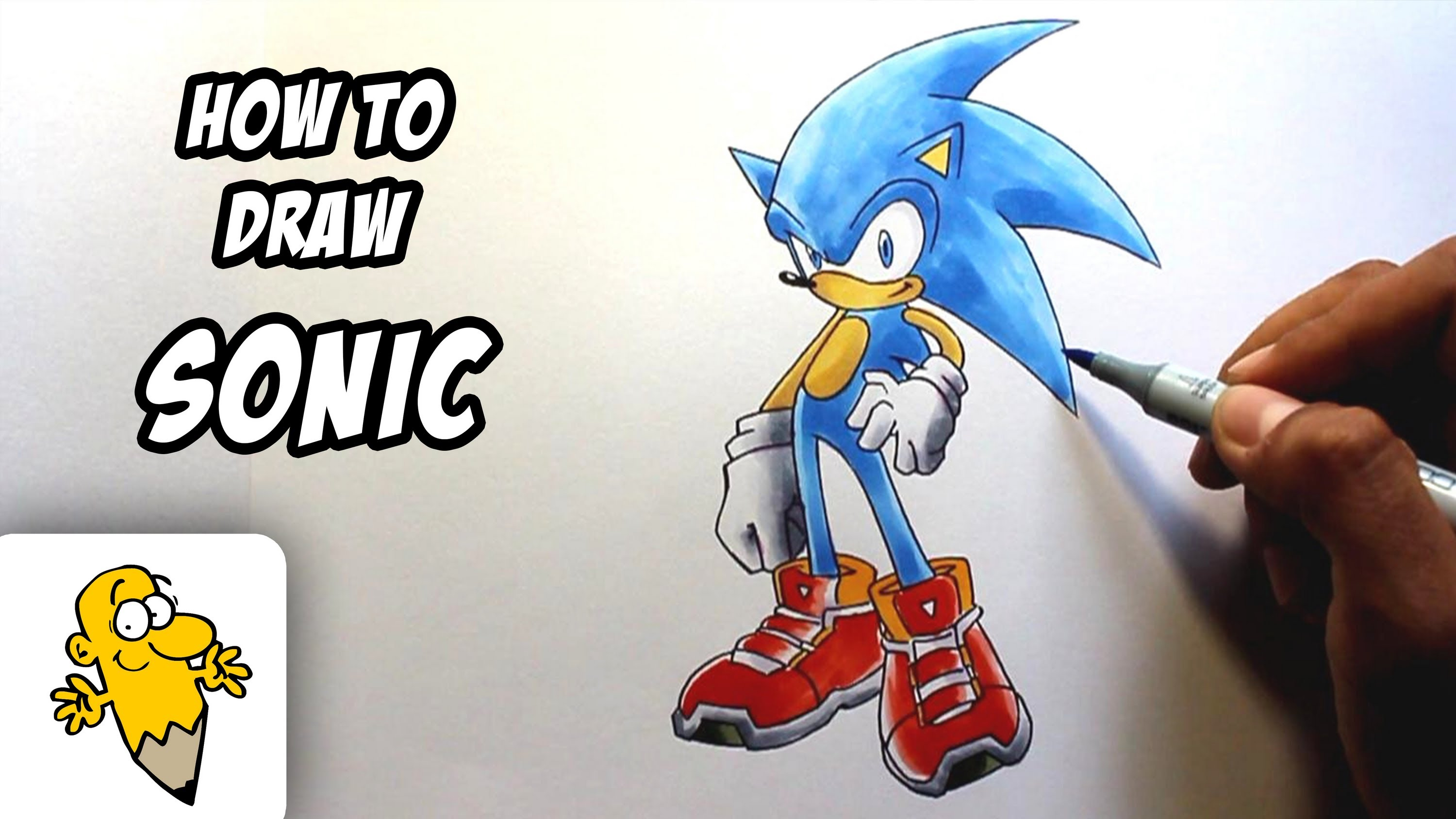 Drawn hedgehog anime The How  drawing draw