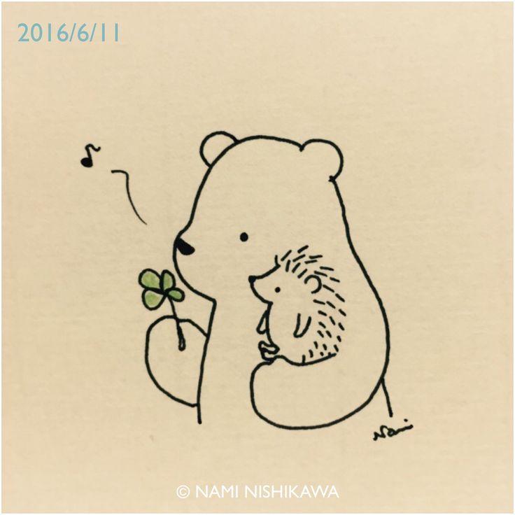 Drawn hedgehog anime Hedgehog & Bear images 3279