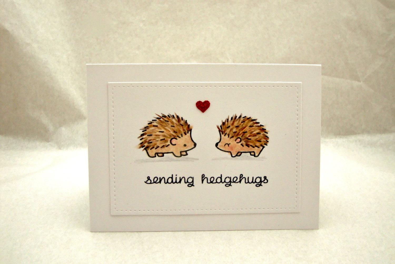 Drawn hedgehog happy birthday Hedgehog Hedgehog Hedgehugs Card Sending