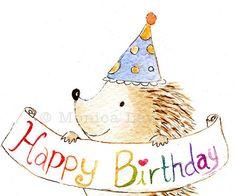 Drawn hedgehog happy birthday Just cute horses all the