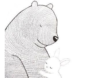 Drawn hedgehog rustic Nursery Bear Drawing 25+ The