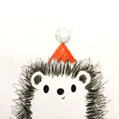 Drawn hedgehog rustic The Illustration Love File Hedgehog