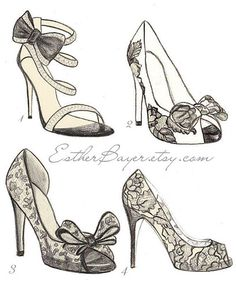 Drawn heels High looks Draw Heels daft