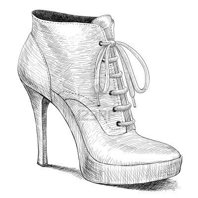 Drawn shoe female #7