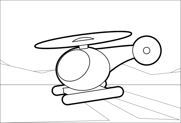 Drawn amd helicopter Helicopter art clip online Clker