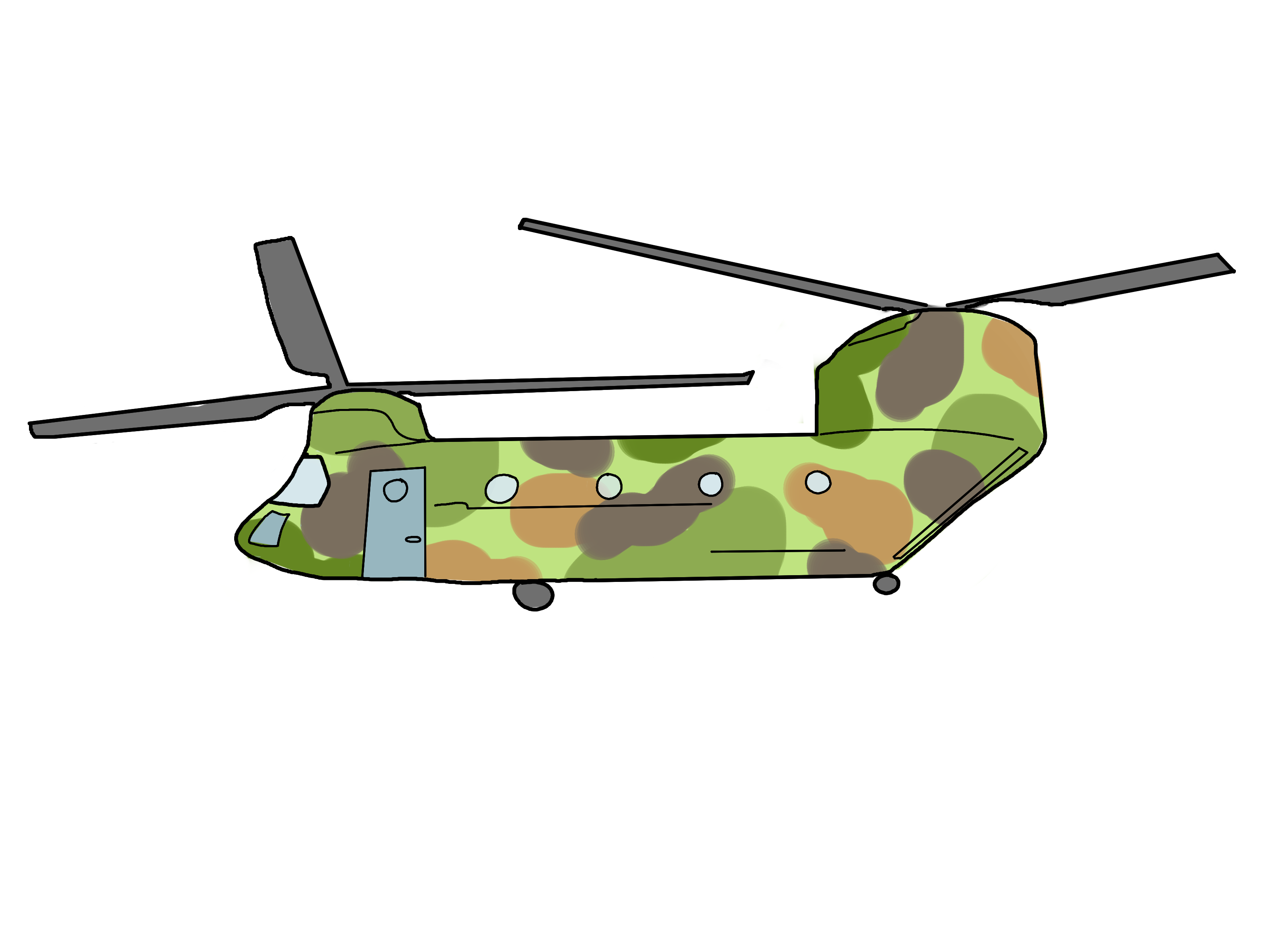 Drawn helicopter How Draw wikiHow to (with
