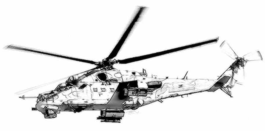 Drawn helicopter attack helicopter Attack Attack clipart Helicopter drawings