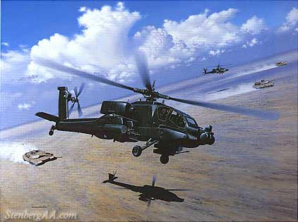 Drawn helicopter bomber  branches Armor S without