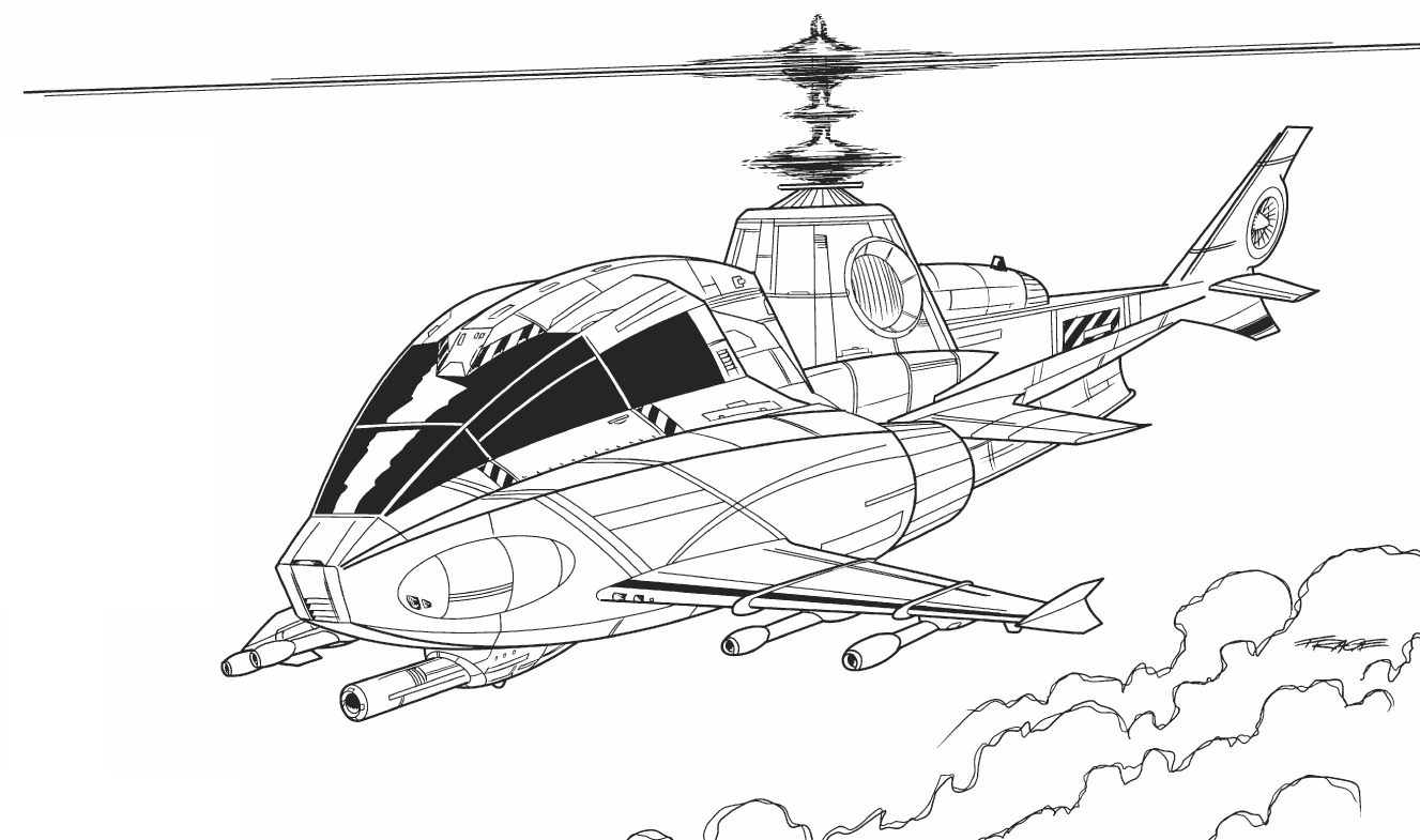 Drawn helicopter bomber War Naval HP Armor: Spitray