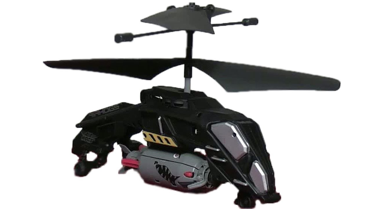 Drawn helicopter bomber Mega From Hogs From Air