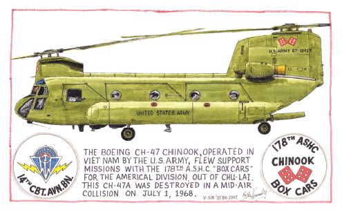 Drawn helicopter chinook helicopter Ben drawing 14th a ink