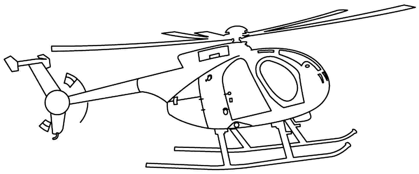 Drawn helicopter colouring page More Posts : Pictures