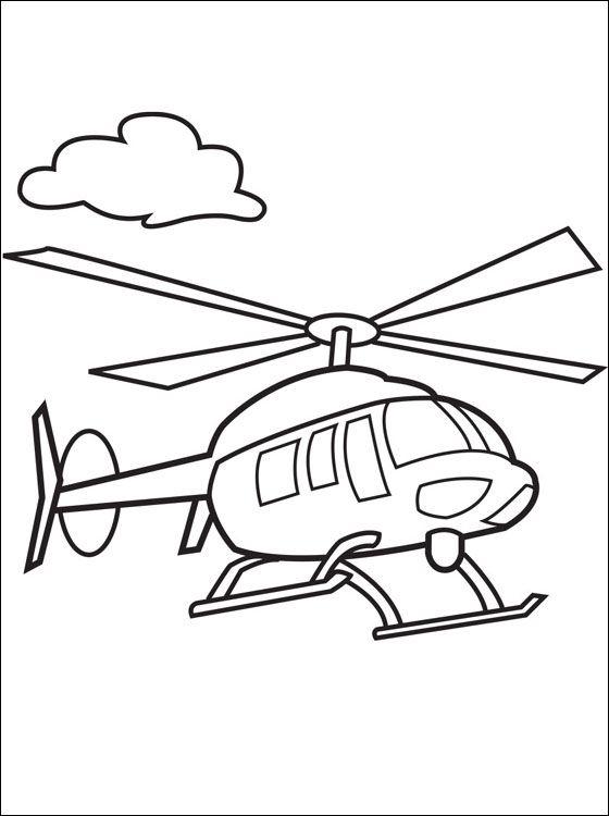Drawn helicopter comic Malvorlagen on · Hubschrauber und