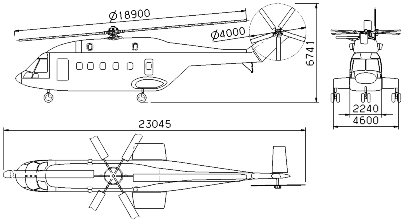 Drawn helicopter z11 Helicopters AC352