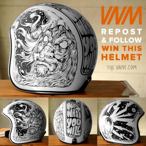 Drawn helmet On VNM Helmet by helmets