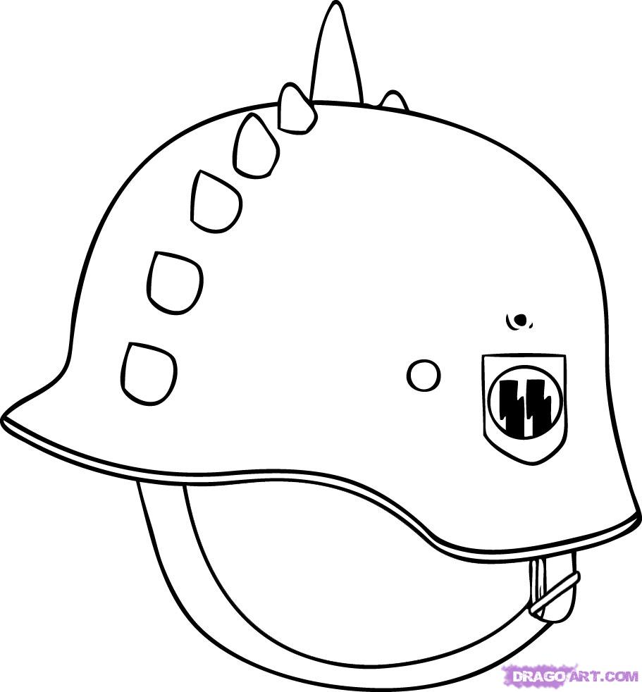Drawn helmet Draw helmet Other by Helmet