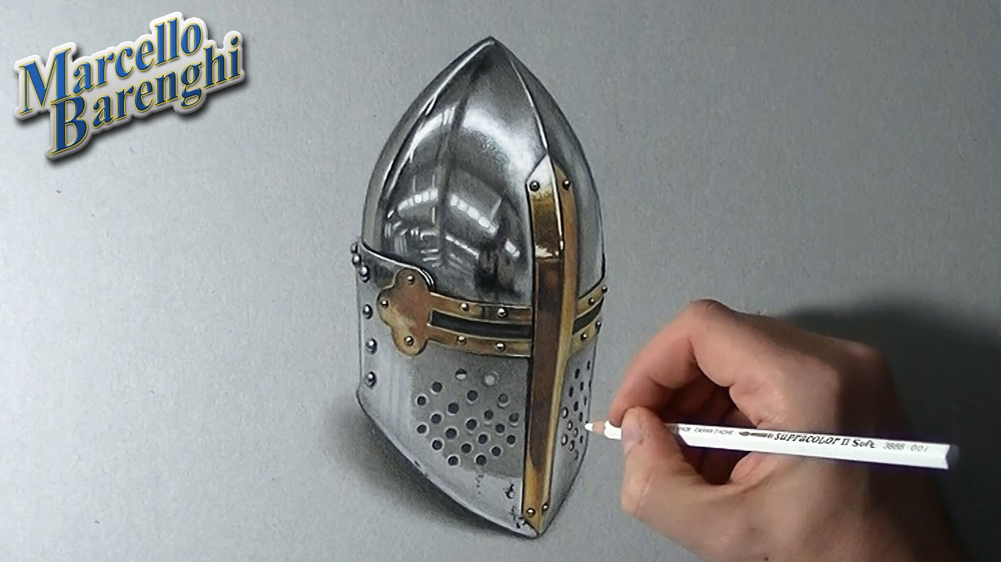 Drawn watch hand vector To How draw  helm