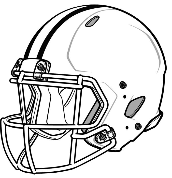 Drawn amd football A Helmet co A Draw