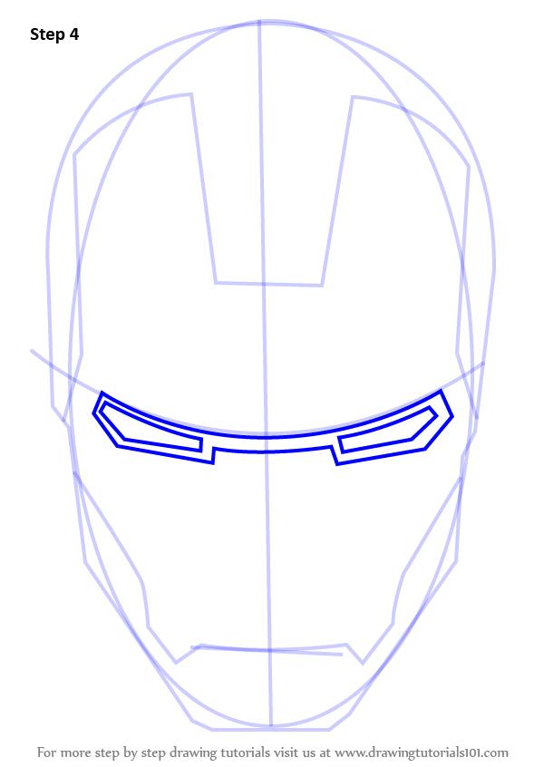 Drawn helmet iron man By DrawingTutorials101 Draw How Man's