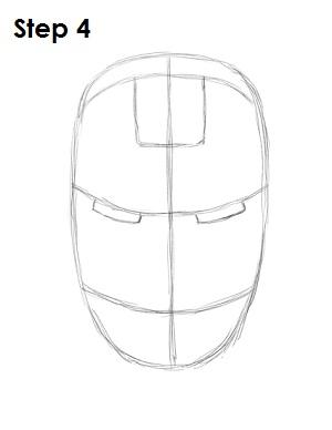 Drawn helmet iron man How Man Draw 4 Draw