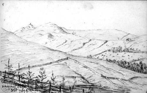 Drawn hill By Peach drawn British Peach