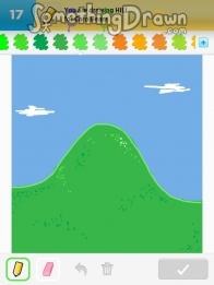 Drawn hill HILL by com C Draw