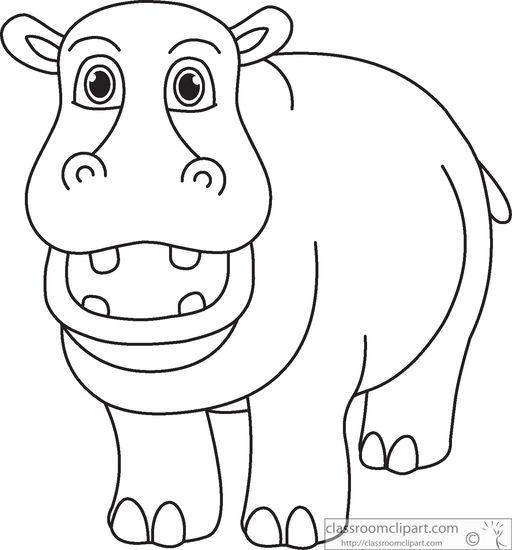 Black clipart hippo Hippopotamus%20clipart%20 Images Free Hippopotamus Panda