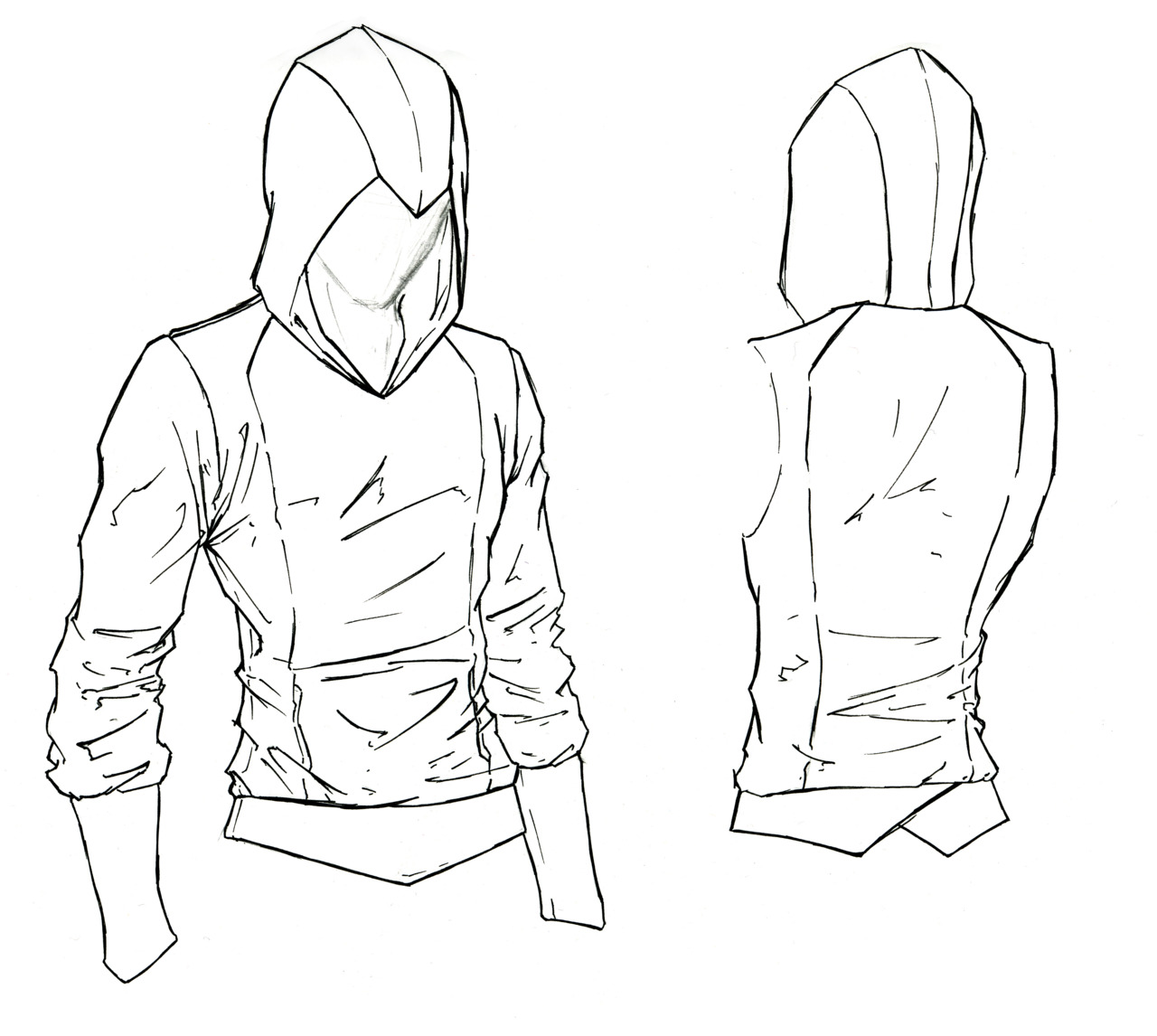 Drawn hood Best inspiration/how draw draw I