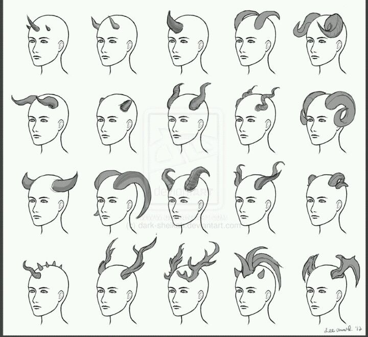 Drawn horns To How Pinterest to
