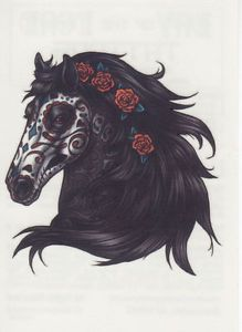 Drawn horse death Horse the DEAD Day Horse