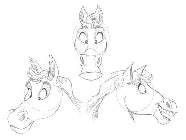 Drawn expression Easy to fairly fairly cute!
