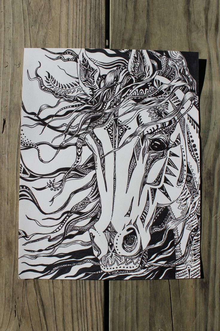 Drawn skeleton abstract Horse 25+ ideas drawing on