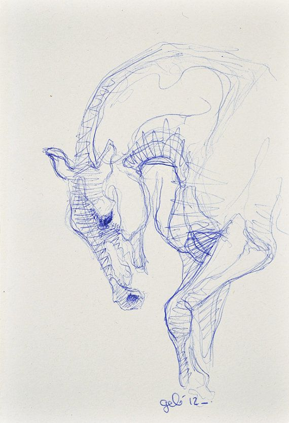 Drawn horse pen Pen Canter Pinterest 160 in