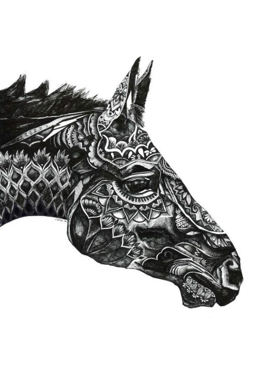 Drawn horse pen In and Pinterest 160 in