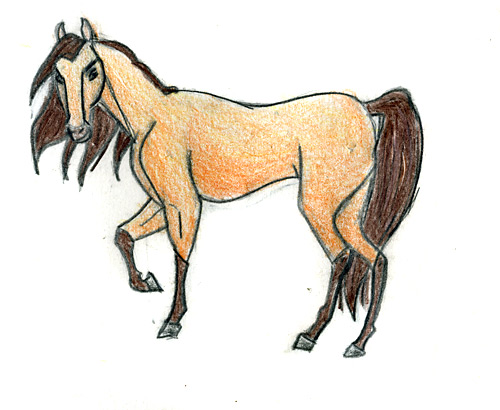Drawn spirit mustang horse Photo#14 Spirit drawings The Horse