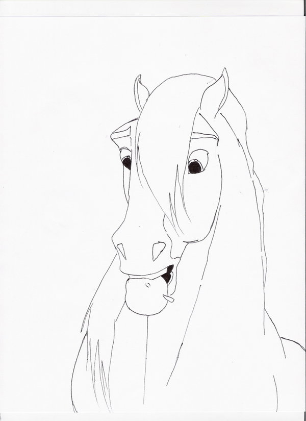 Drawn spirit mustang horse Drawings Horse  Spirit The