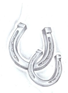 Drawn horseshoe ankle Designs horseshoe Simple horseshoe elegant