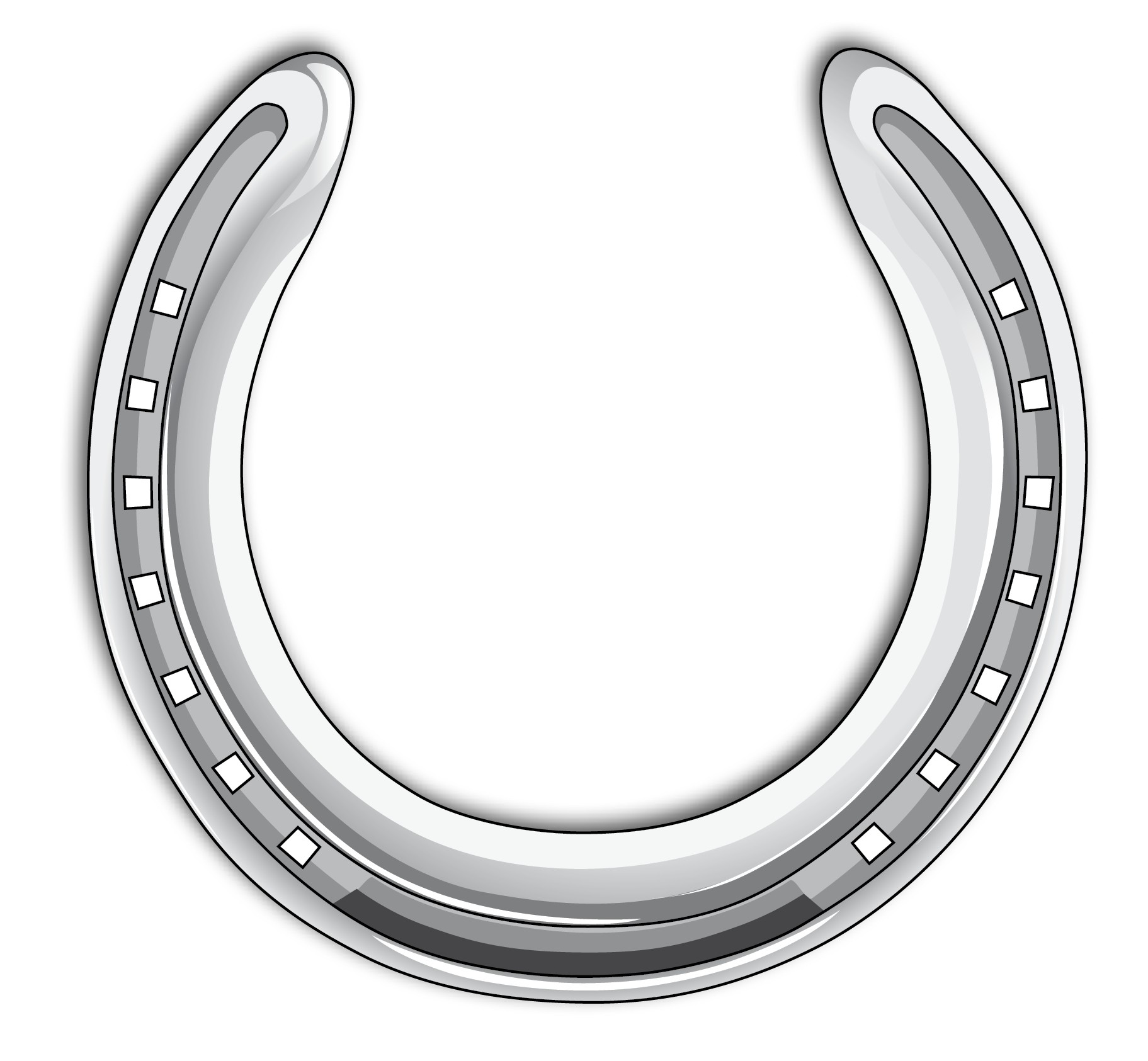 Drawn horseshoe foot Horseshoes Trends Of Download Free